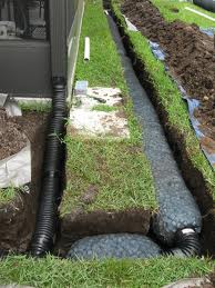 French Drain Contractor Northern Virginia Fairfax Yard