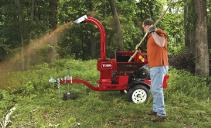 brush chipping and brush removal in northern Virginia