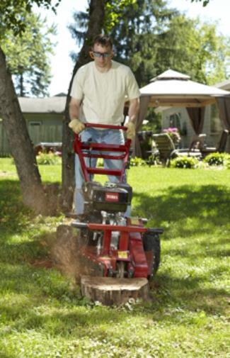 Stump Grinding Small Grinder